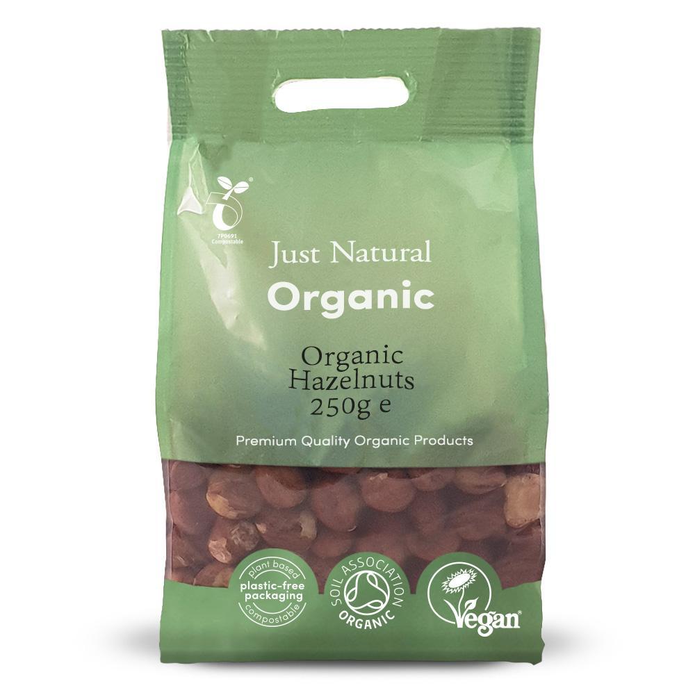 Just Natural organic hazelnuts 250 gr