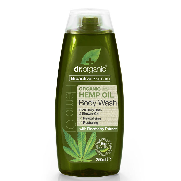Dr. Organic body wash hemp oil 250 ml
