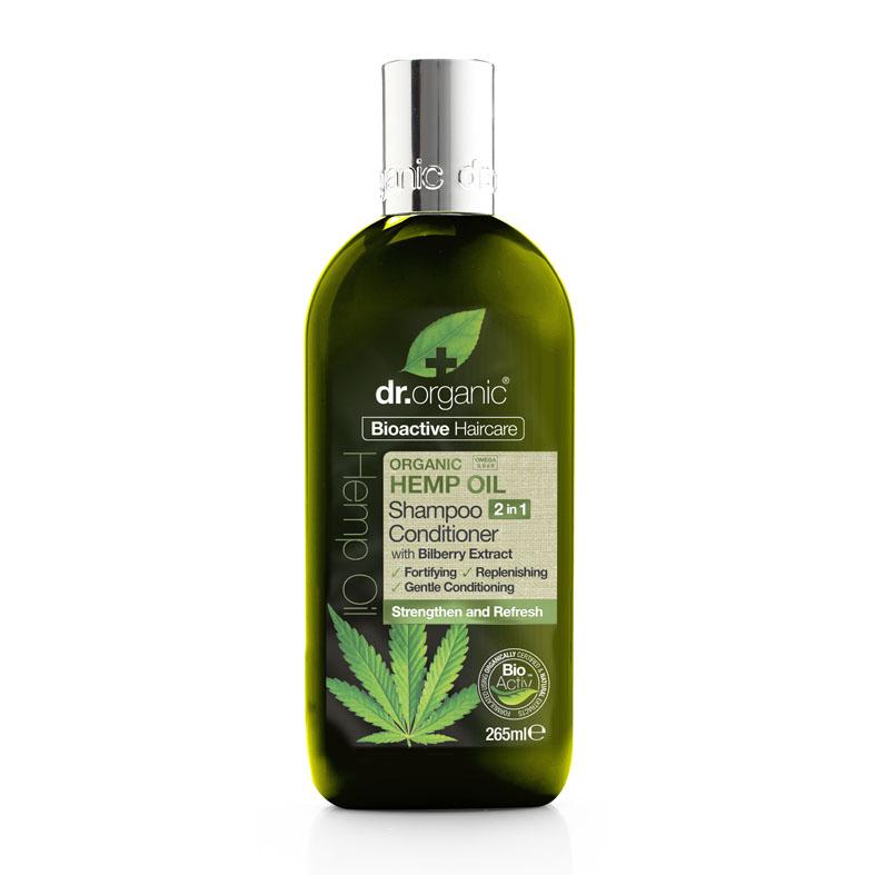 Dr. Organic hemp oil shampoo & conditioner 2 in 1 265 ml