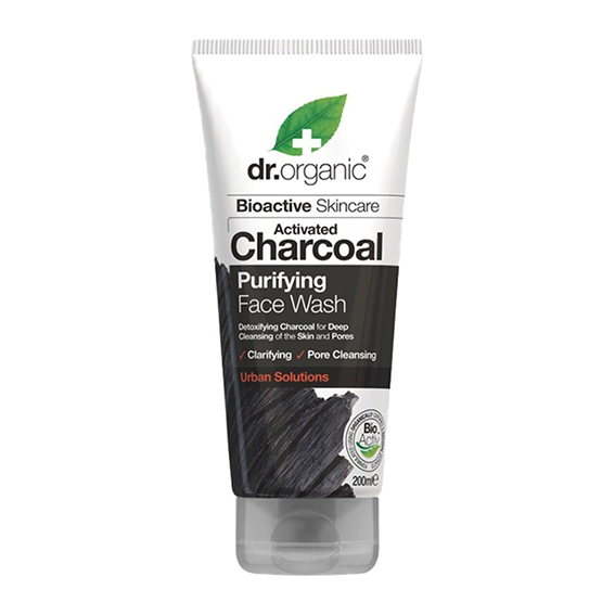 Dr. Organic charcoal purifying face wash