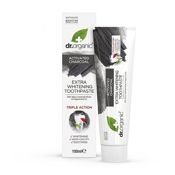 Dr. Organic charcoal toothpaste 100 ml