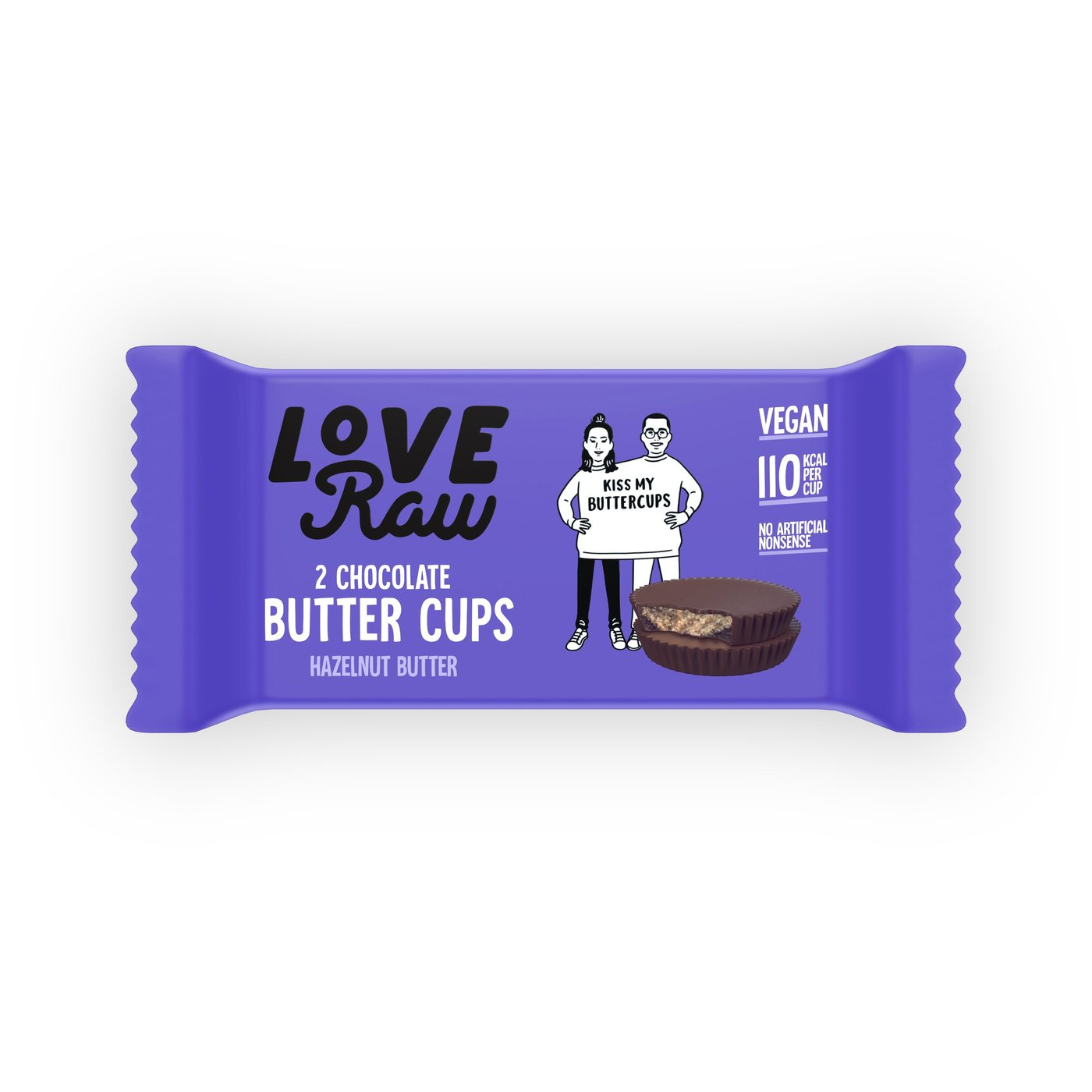 Love Raw vegan hazelnut butter cups 34 gr