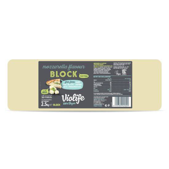 Violife pizzaost m/mozzarella 2,5 kg
