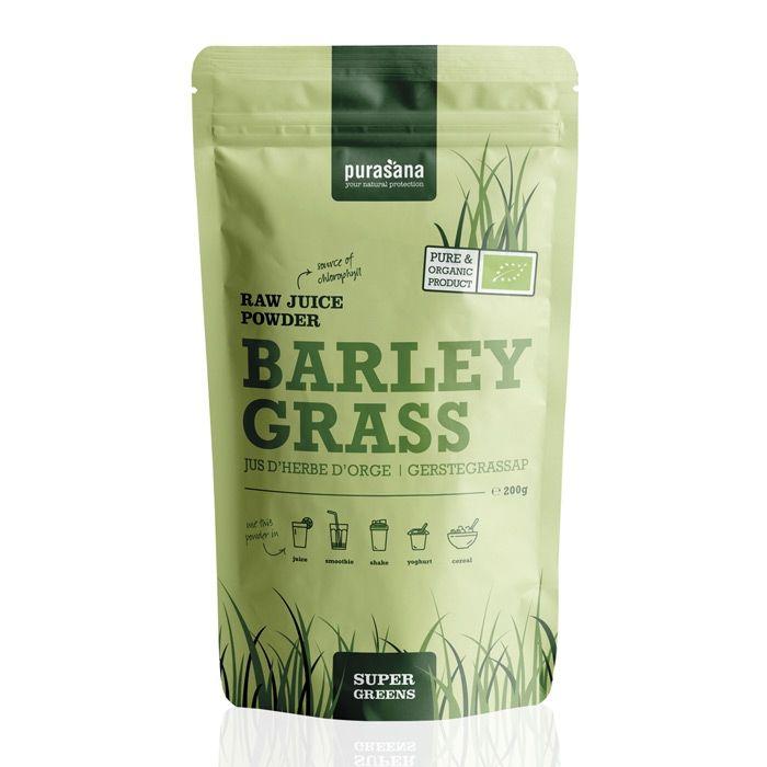 Purasana barley grass juice powder 200 gr øko