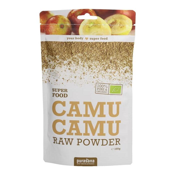 Purasana camu camu powder 100 gr øko