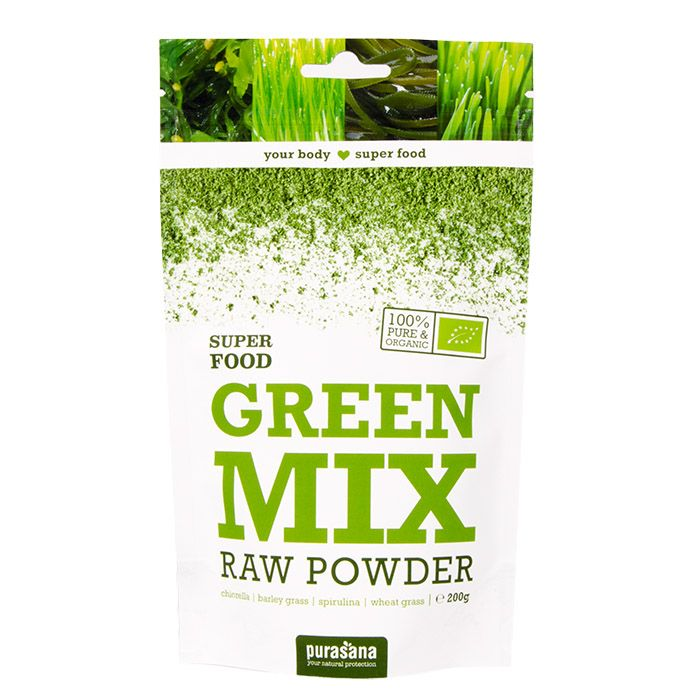 Purasana greenmix powder 200 gr øko