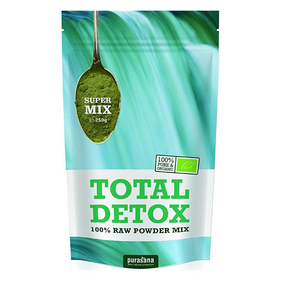 Purasana total detox mix 250 gr øko