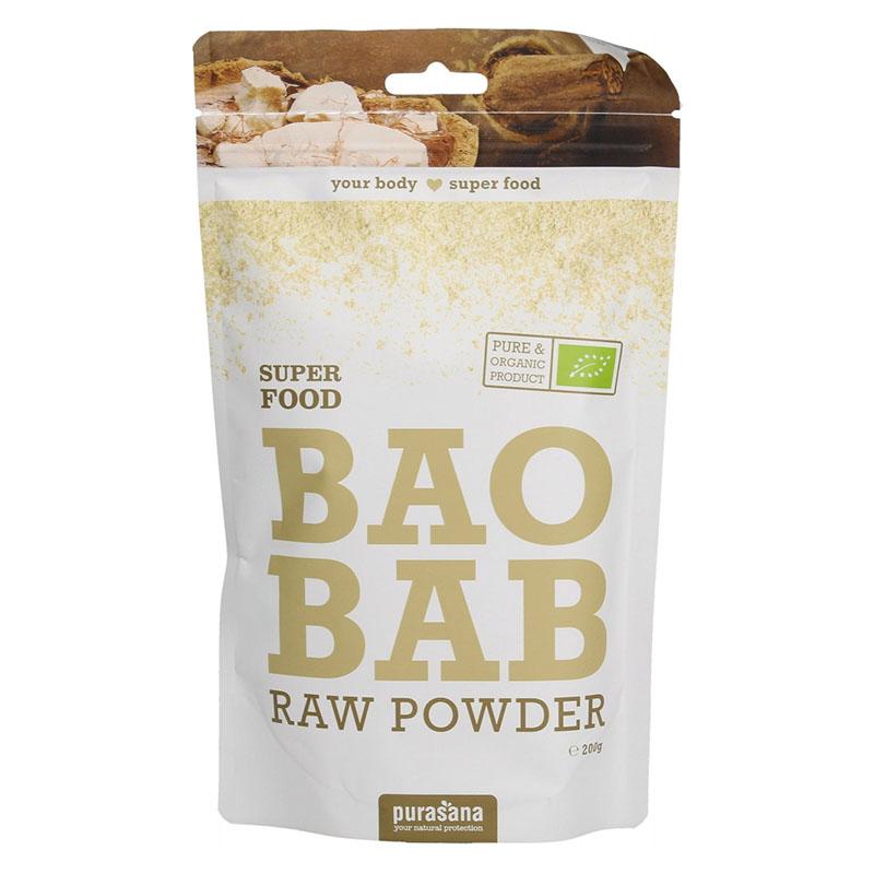 Purasana baobab powder 200 gr øko