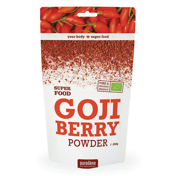 Purasana gojiberry powder 200 gr øko