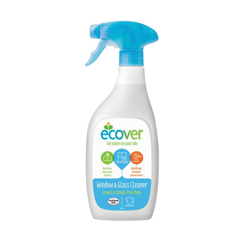 Ecover vindu og glass spray 500 ml