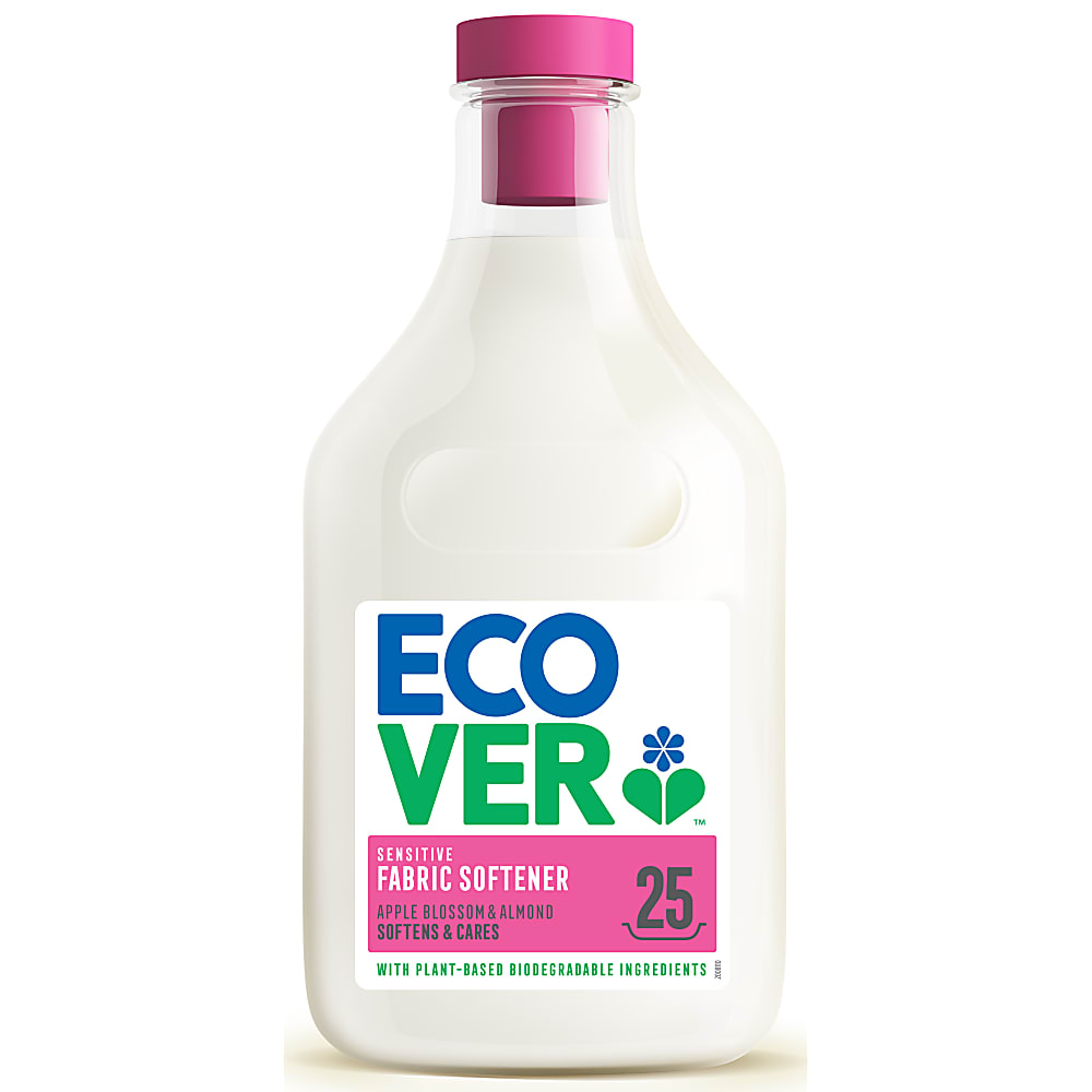 Ecover tøymykner apple blossom & almond 750 ml
