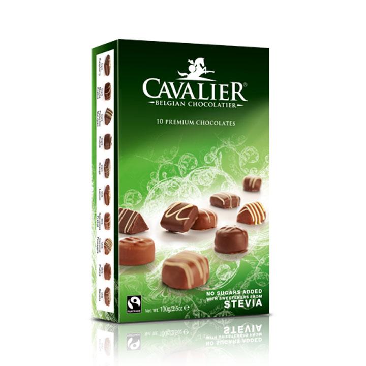 Cavalier stevia beligan chocolates 100 gr