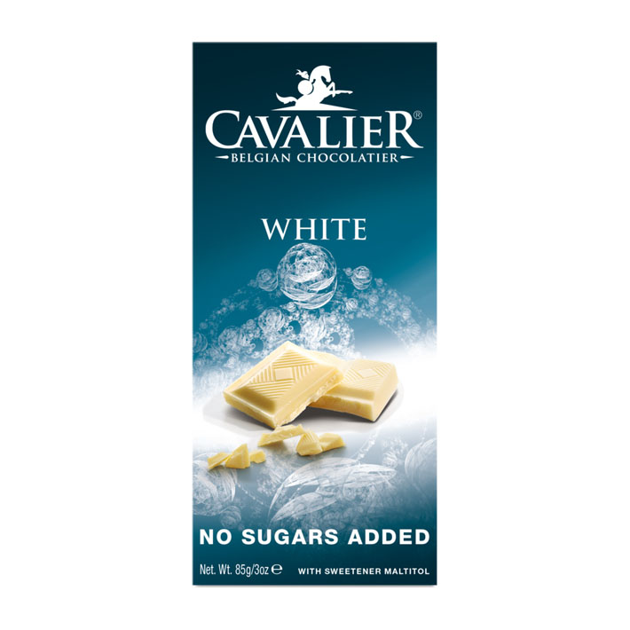 Cavalier white chocolate 85 gr