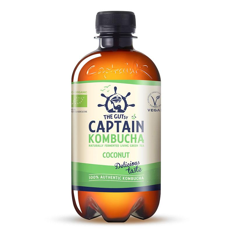 Captain Kombucha coconut 400 ml øko