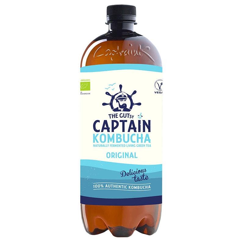 Captain Kombucha original 1 l øko