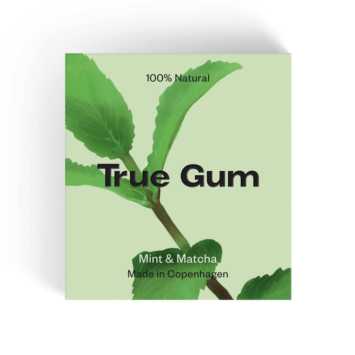 True Gum mint & matcha 21 gr