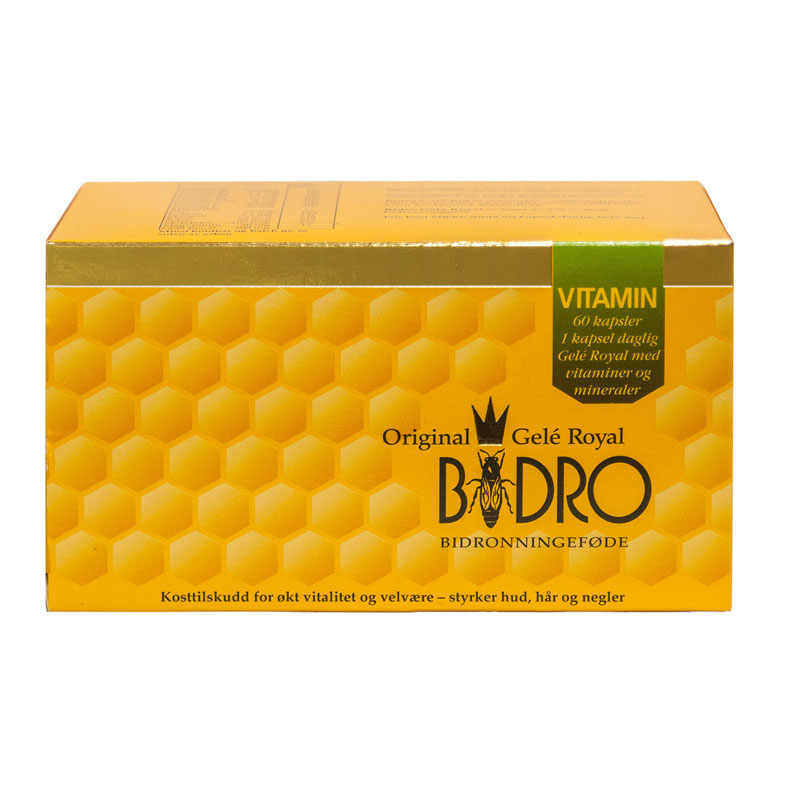 Bidro gele royal vitamin 60 kap