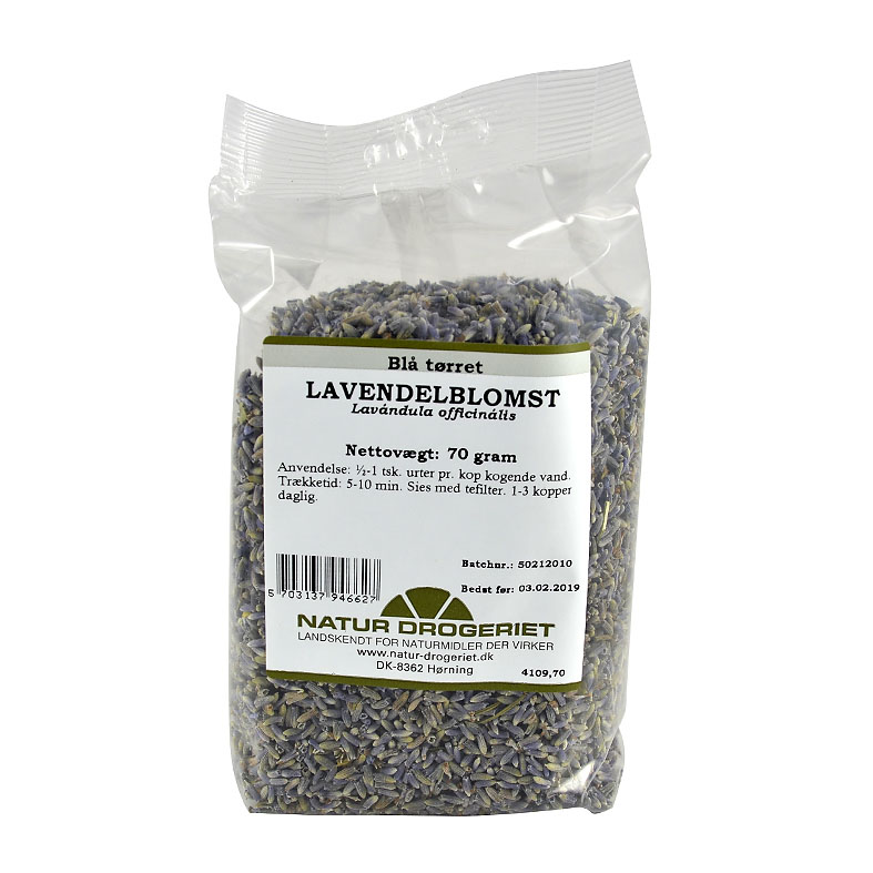 Natur Drogeriet lavendelblomst 70 gr