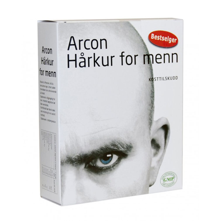 Arcon hårkur for menn 30 kap 60 ml spray