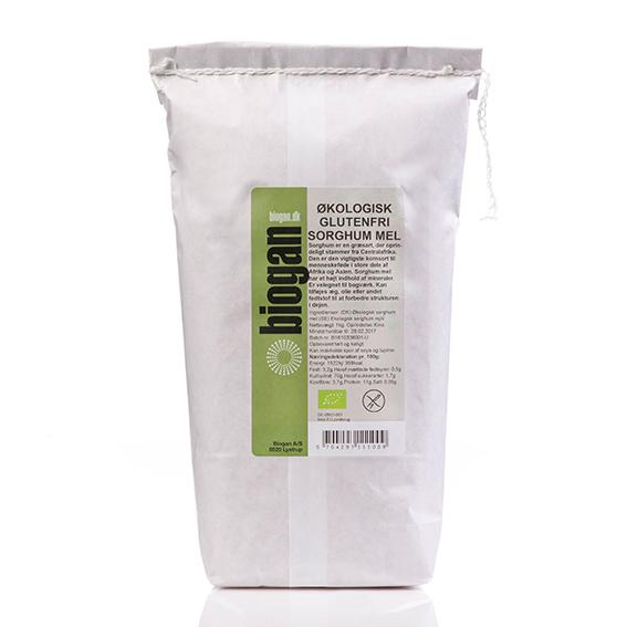 Biogan sorhummel fullkornsmel 1 kg øko