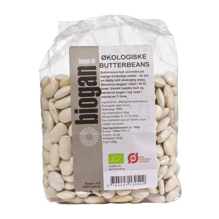Biogan butterbeans 750 gr