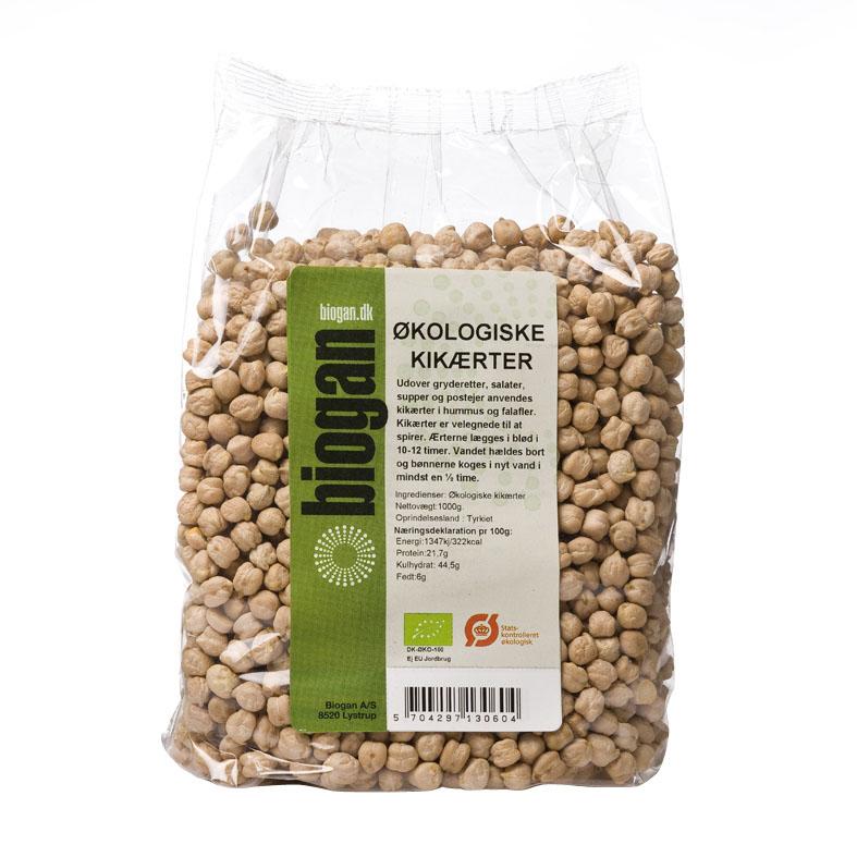 Biogan kikerter 1 kg