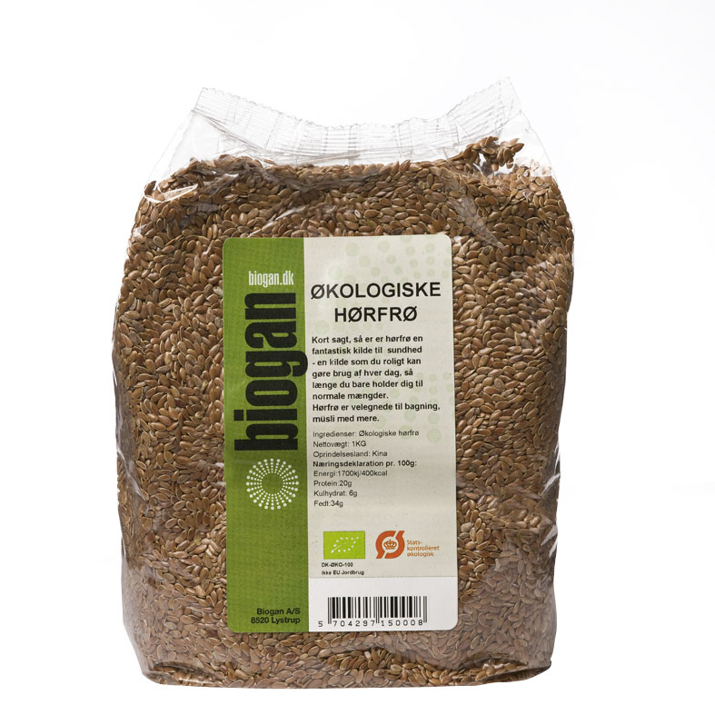 Biogan linfrø 1 kg