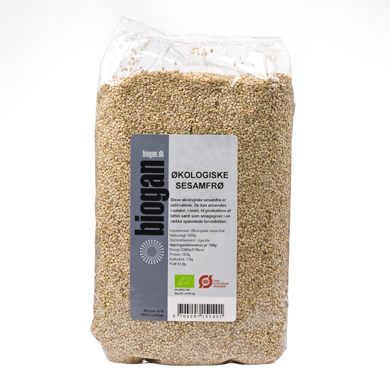 Biogan sesamfrø 1 kg øko