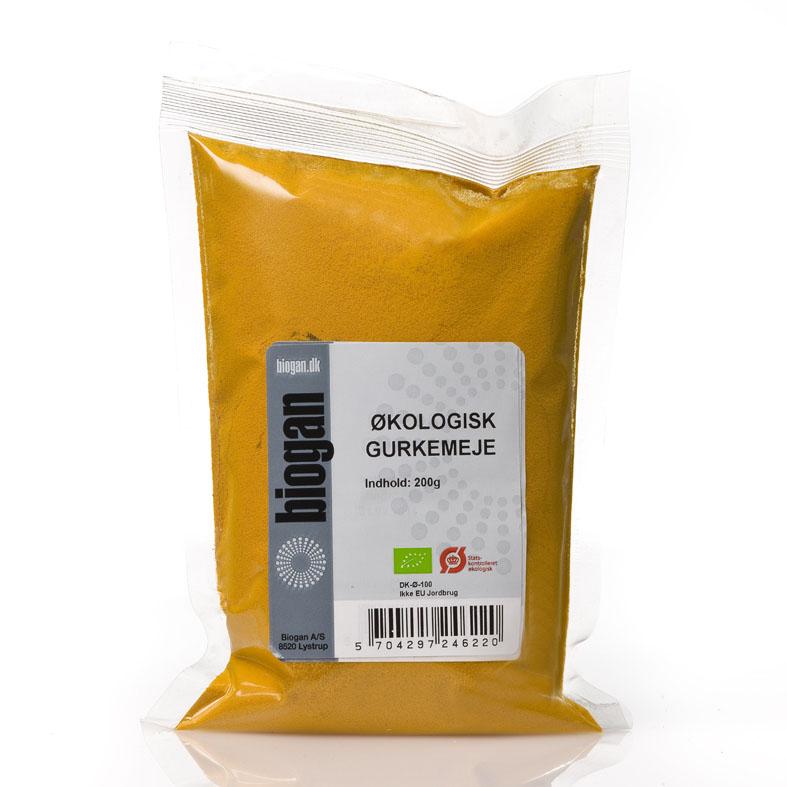 Biogan gurkemeie 200 gr