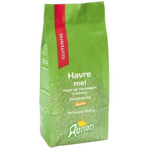Aurion havremel glutenfri 800 gr øko
