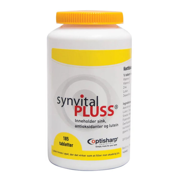 Synvital Pluss 185 tab