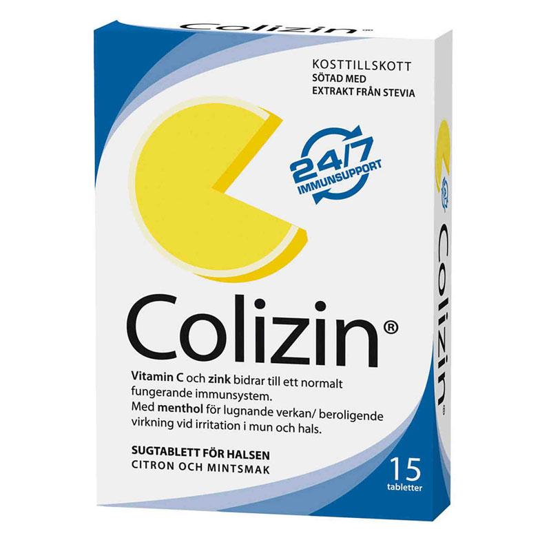 Colizin 15 sugetabletter