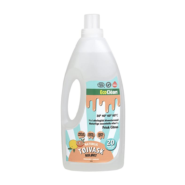 Eco clean tøyvask citrus 1,5 l