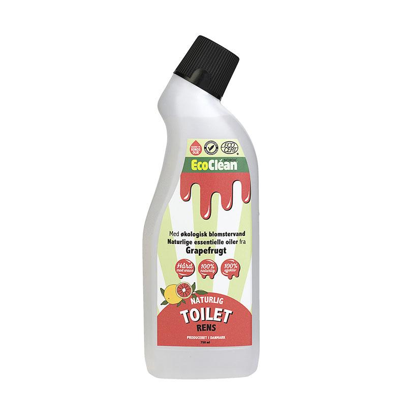 Eco clean toalettrens grapefrukt 750 ml