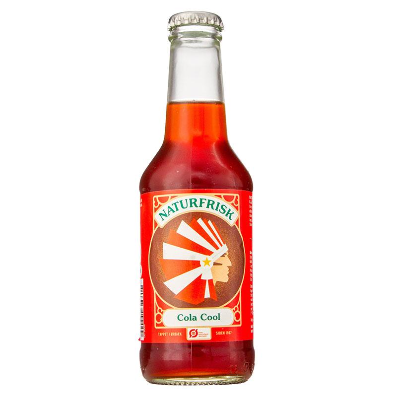 Naturfrisk classic cola brus 250 ml