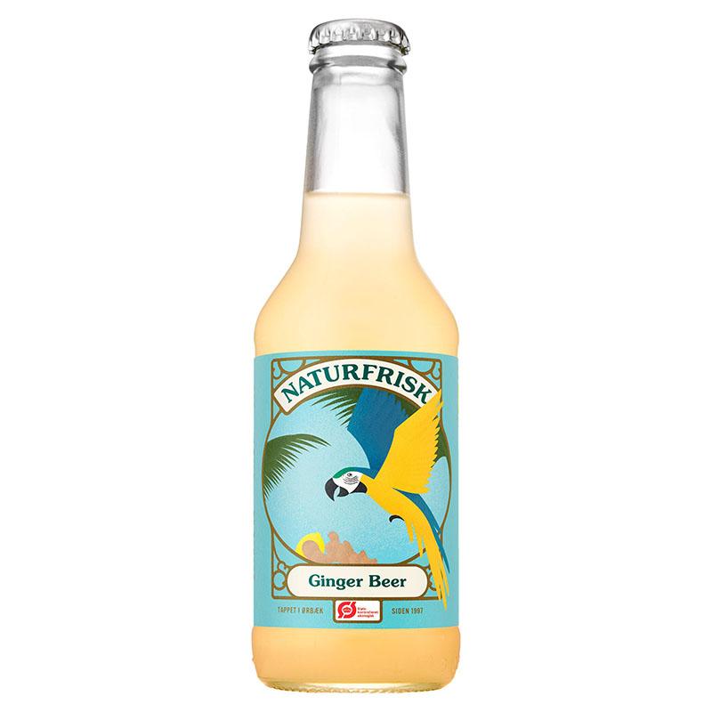 Naturfrisk ginger beer 275 ml