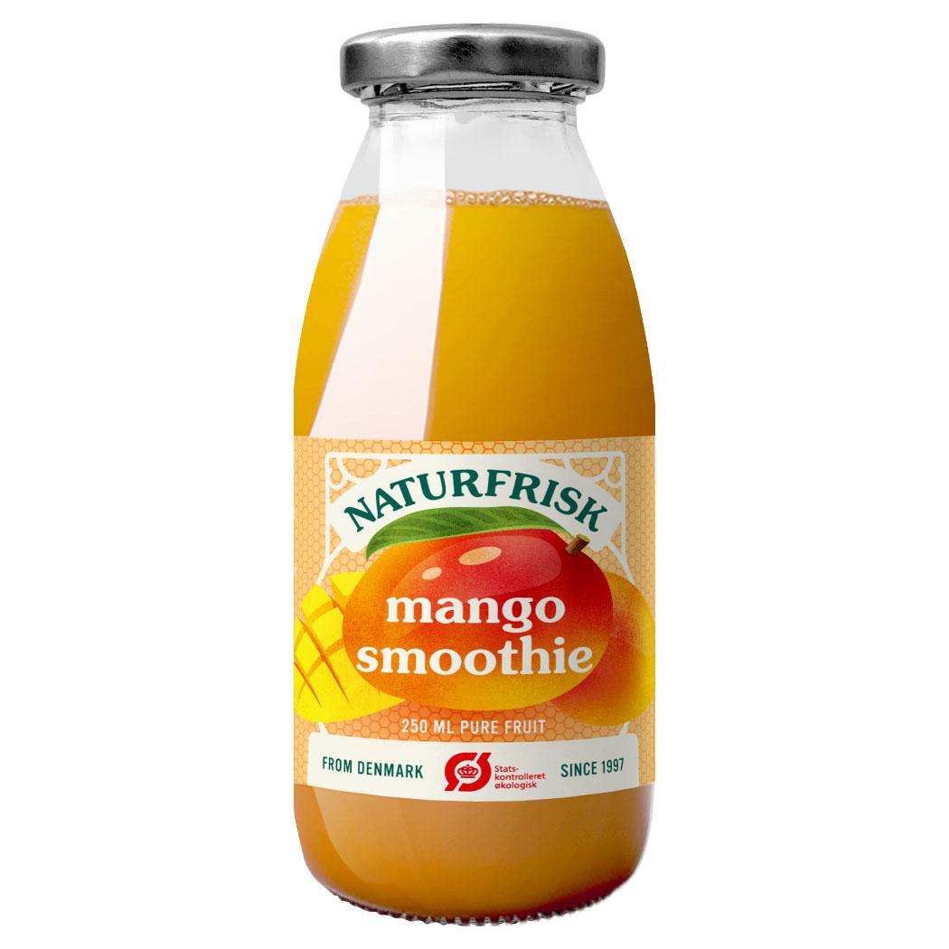 Naturfrisk mangosmoothie u/sukker 250 ml øko