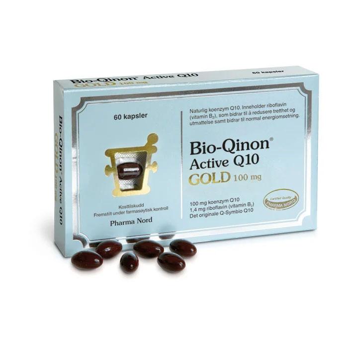 Pharma Nord Bio-Qinon Q10 Gold 100 mg 60 kap