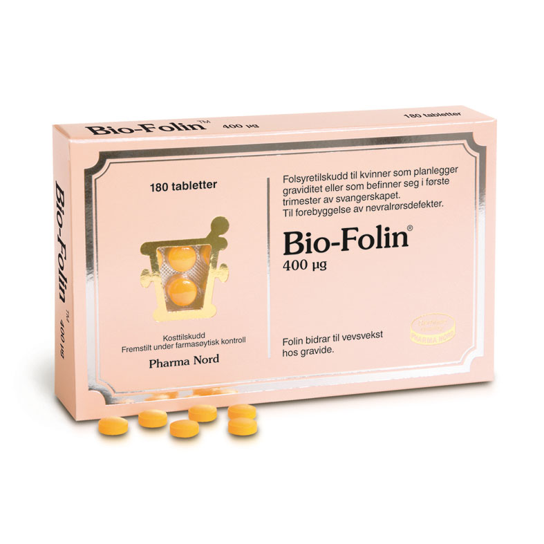 Pharma Nord Bio-Folin 400 µg 180 tab