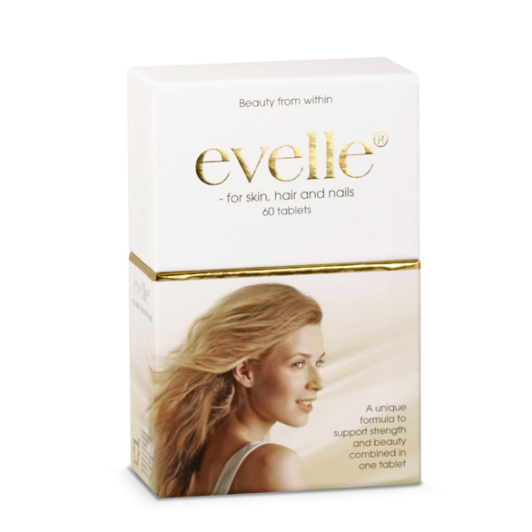 Evelle for skin hair and nails 60 tab