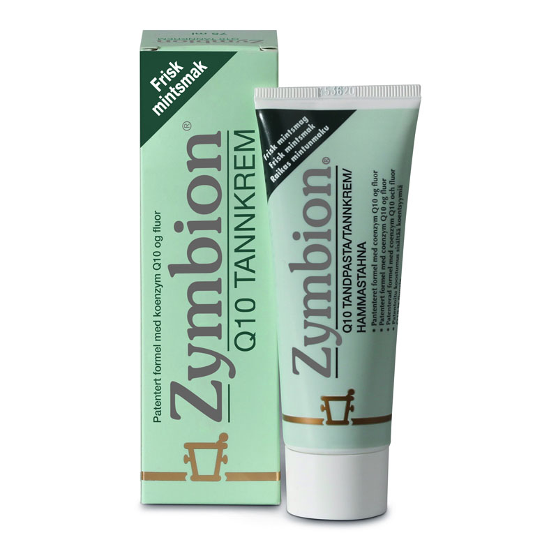 Zymbion Q10 Tannkrem M/Fluor 75 ml