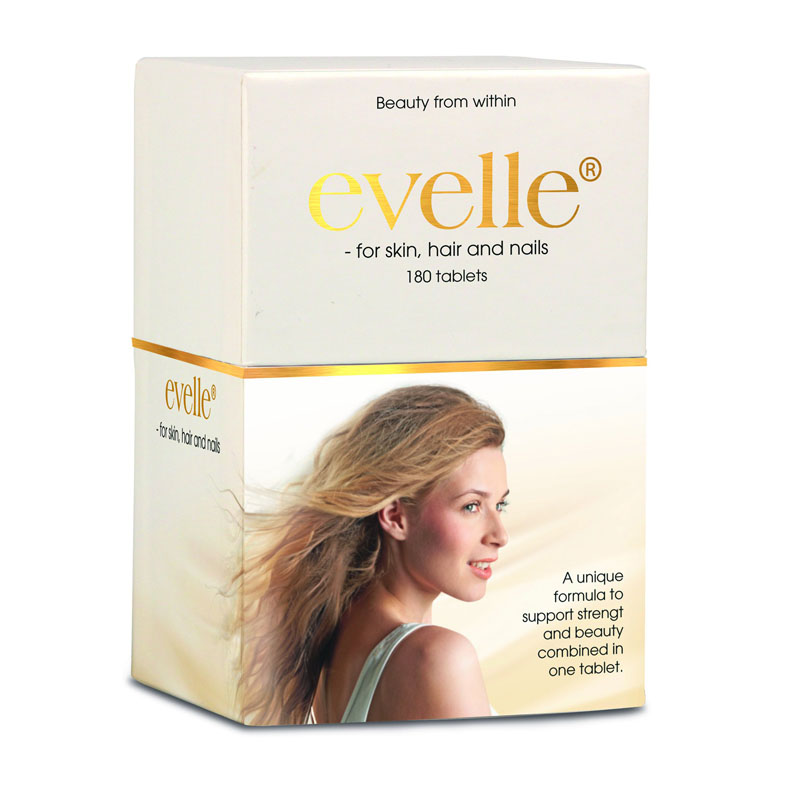 Evelle for skin, hair and nails 180 tab