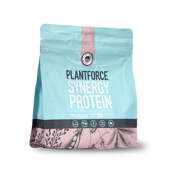 Plantforce synergy protein natural 400 gr