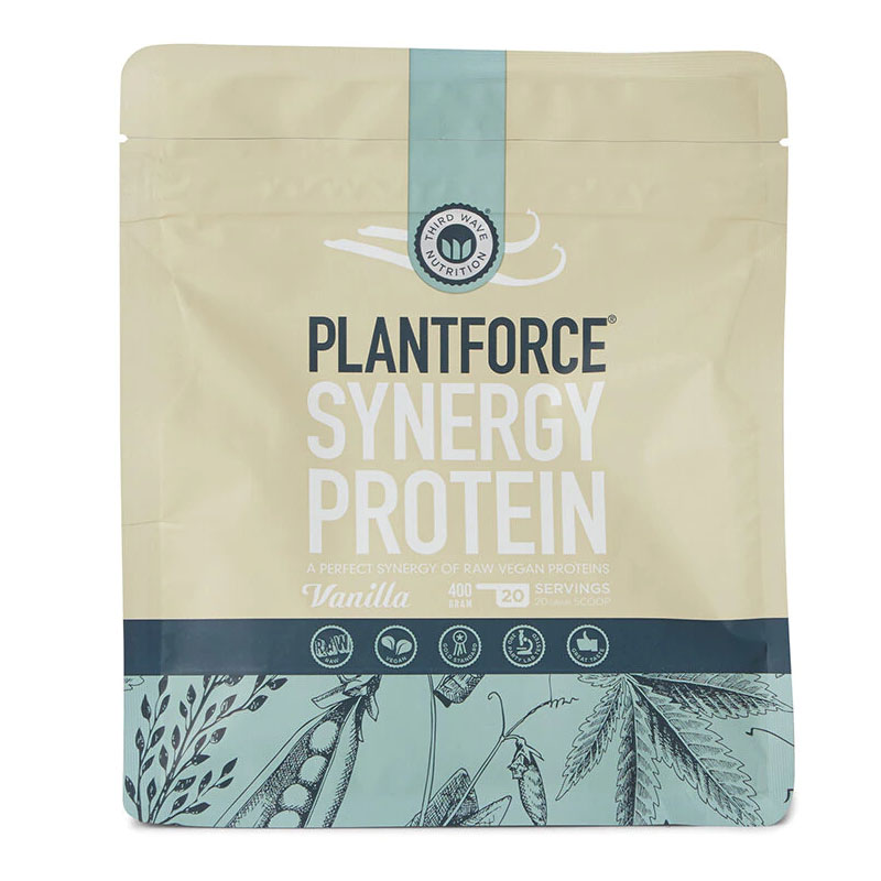 Plantforce synergy protein vanilla 400 gr
