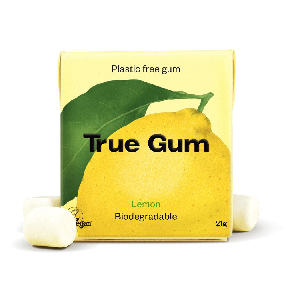 True Gum sitron tyggegummi 21 gr