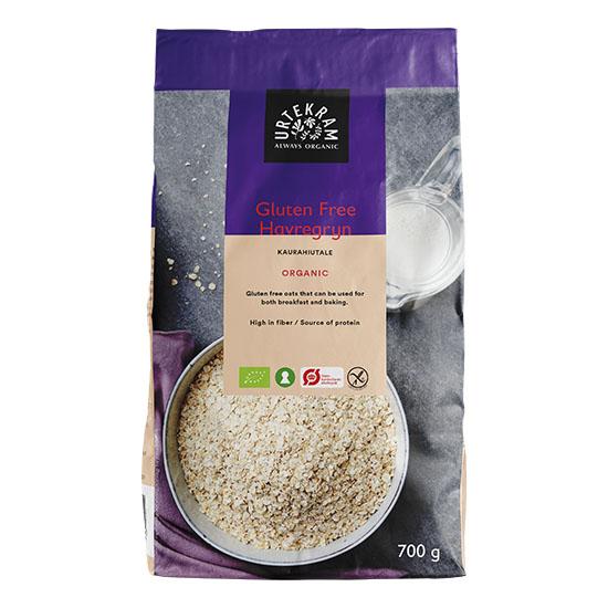 Urtekram havregryn glutenfri 700 gr