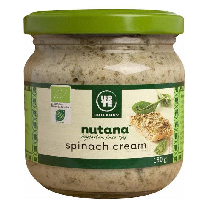 Urtekram nutana spinach cream 180 gr øko