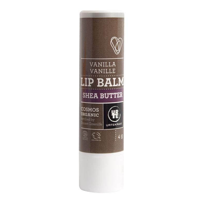 Urtekram lip balm shea butter 4 gr
