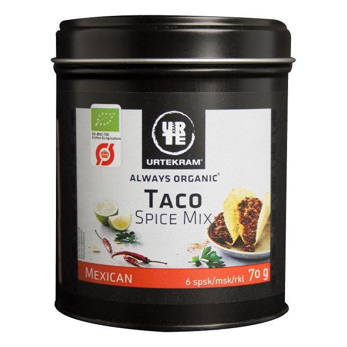 Urtekram taco spice mix 70 gr