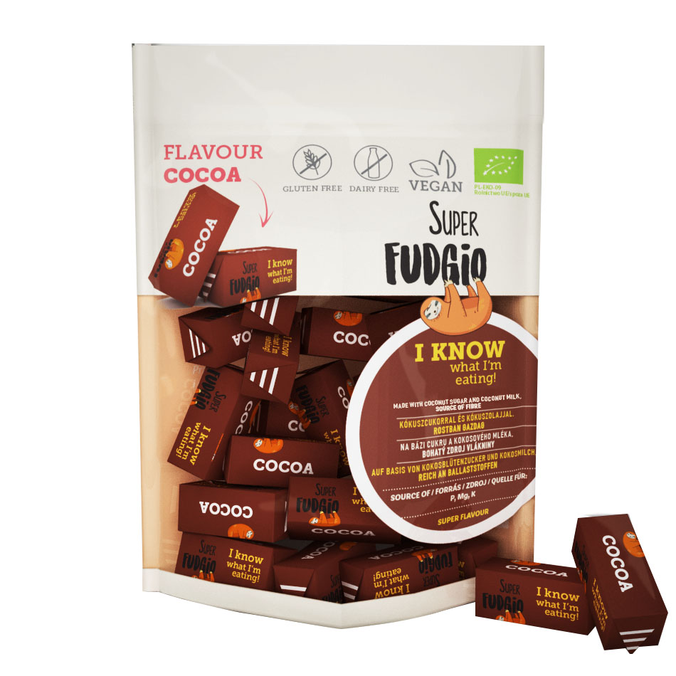 Super Fudgio cocoa fudge 150 gr